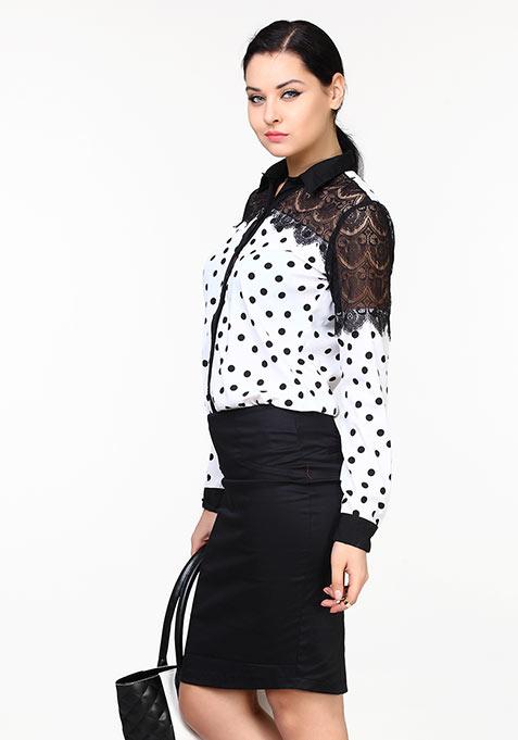 Shape Up Pencil Skirt - Black