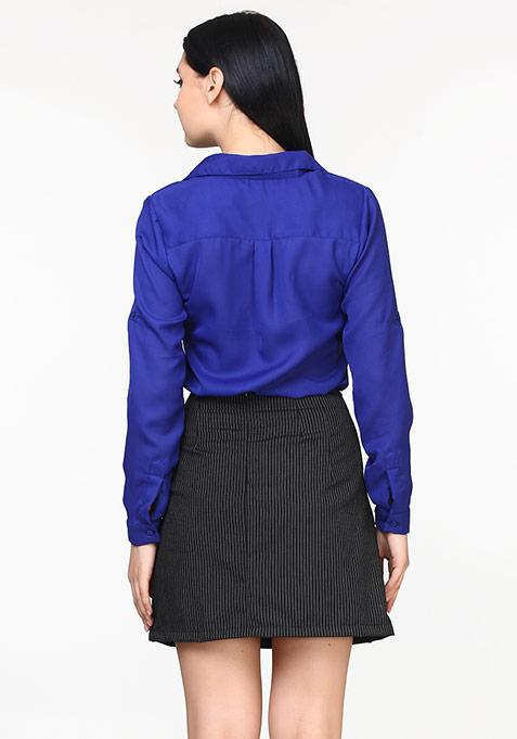 Sixties Swing Skirt - Stripes