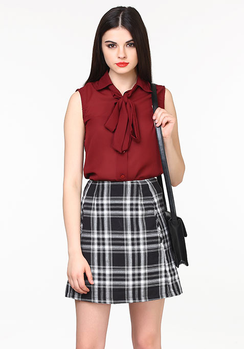 Sixties Swing Skirt - Black