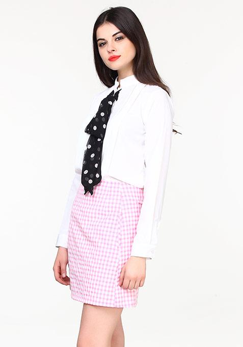 Sixties Swing Skirt - Gingham