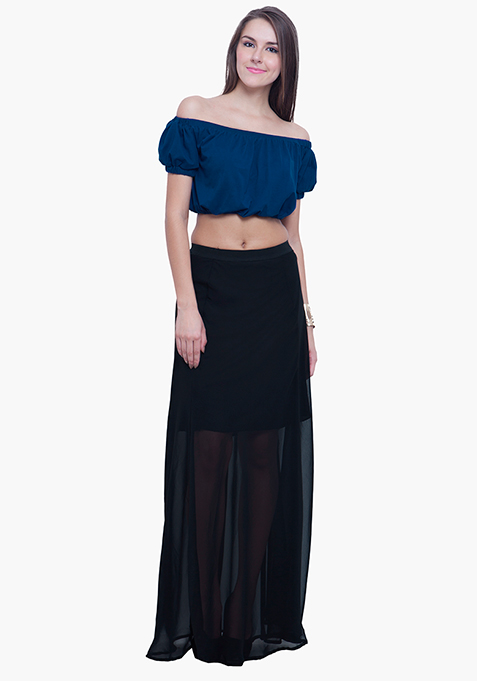 Maxi Much Skirt - Black