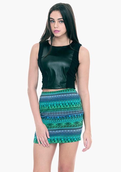 Aztec Age Mini Skirt