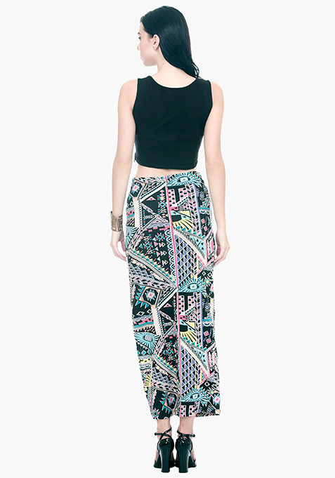 NormCore Maxi Skirt - Aztec