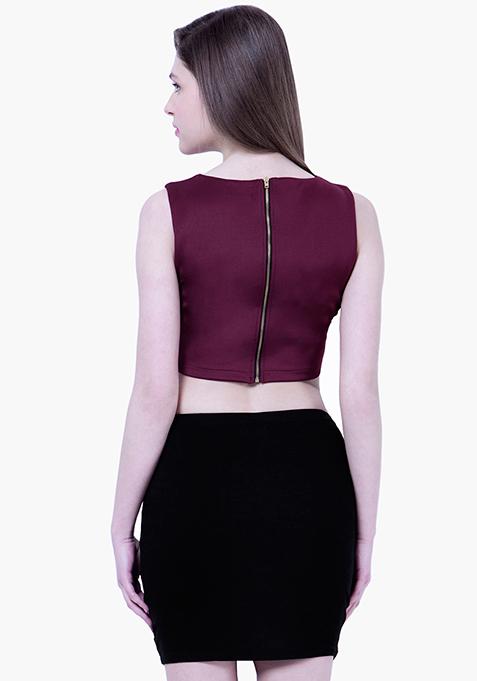 BASICS Black Tube Mini Skirt