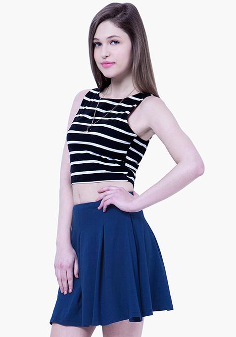 BASICS Skater Skirt - Blue
