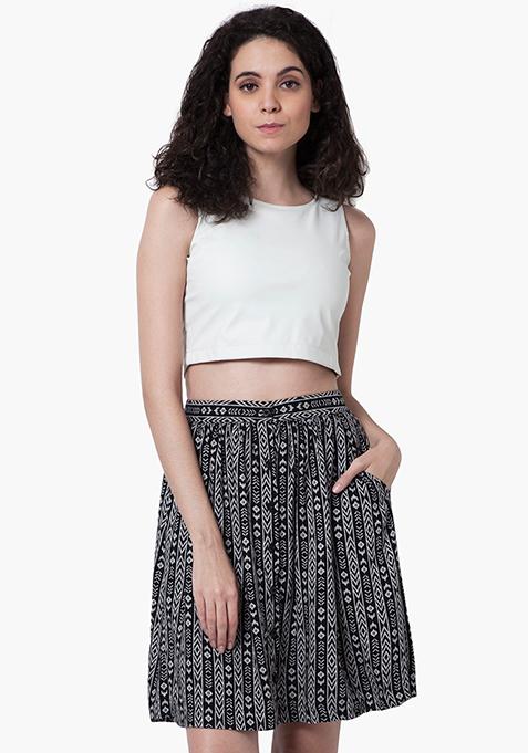 Aztec Daze Midi Skirt