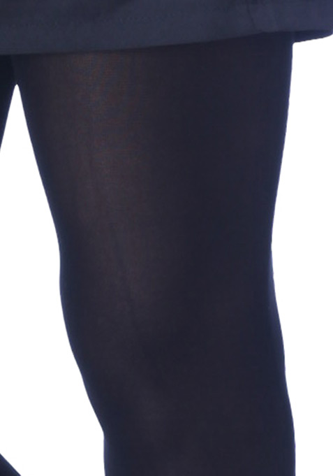 Opaque Black Tights
