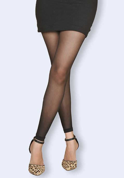 Fine Black Tights