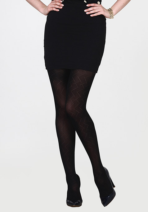 Diamond Pattern Stockings