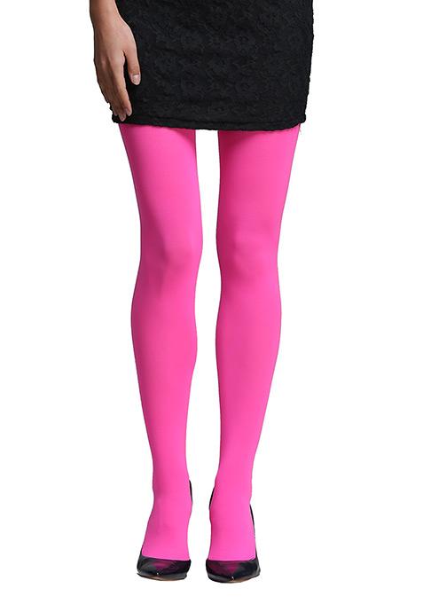 Neon Pink Stockings