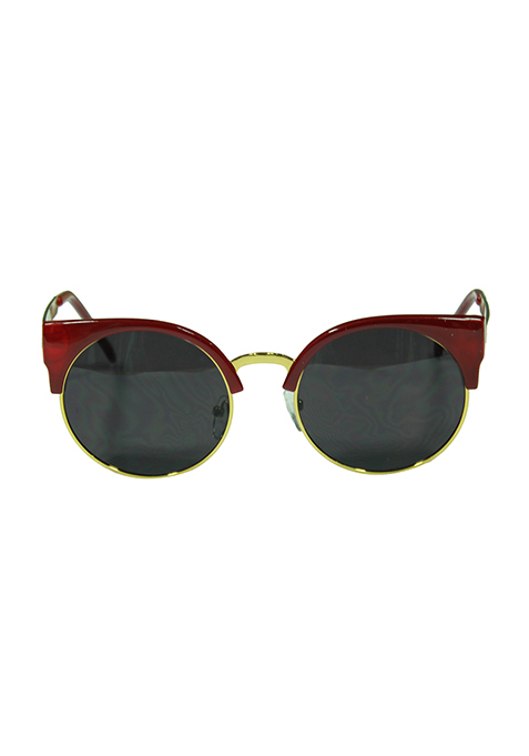 Cat Call Sunglasses - Merlot