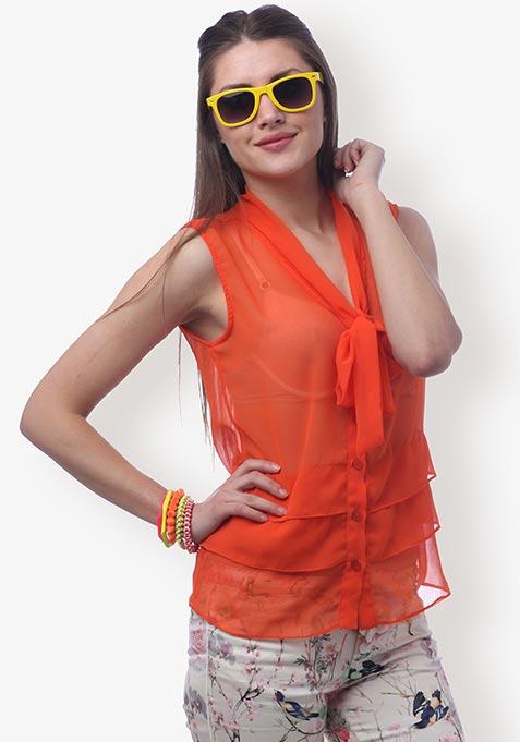 Orange Rhaposody Shirt