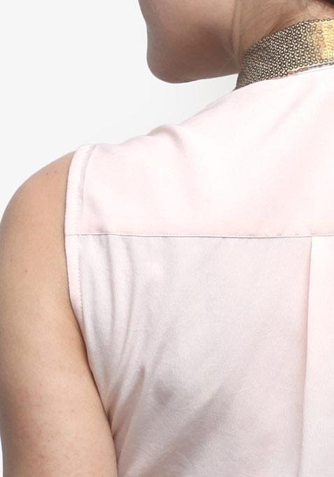 Gilt Collar Blouse