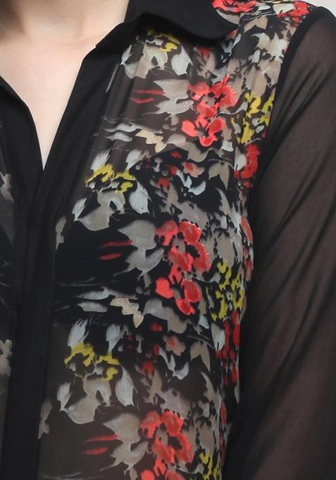 Wildflower Panel Shirt
