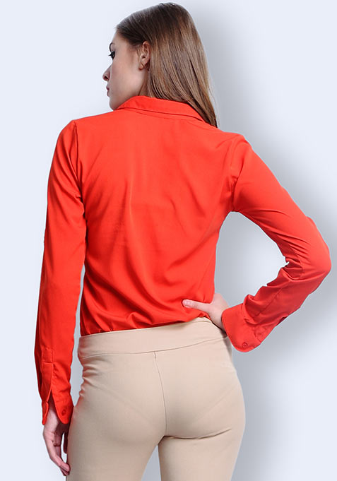 Fiery Flame Blouse