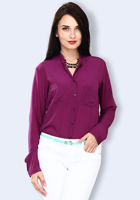 Purple Paradise Shirt