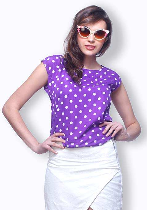 Purple Perks Blouse