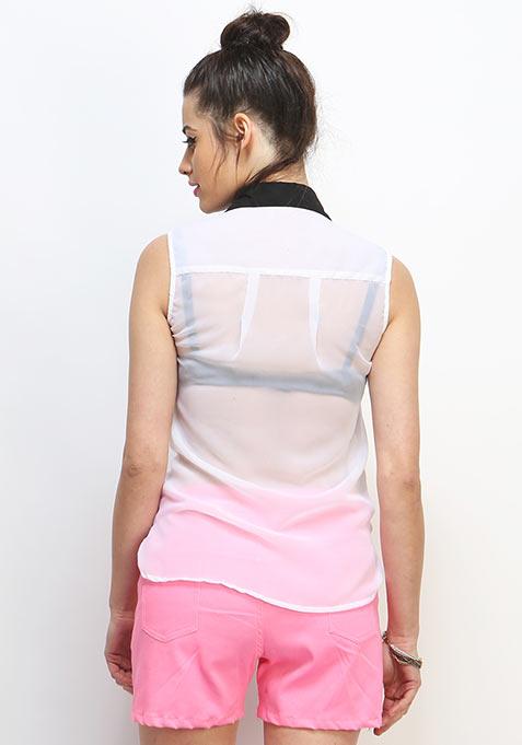 Monochrome Twist Shirt