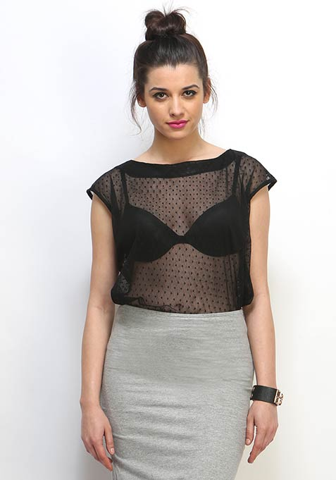 Chill Out Mesh Top