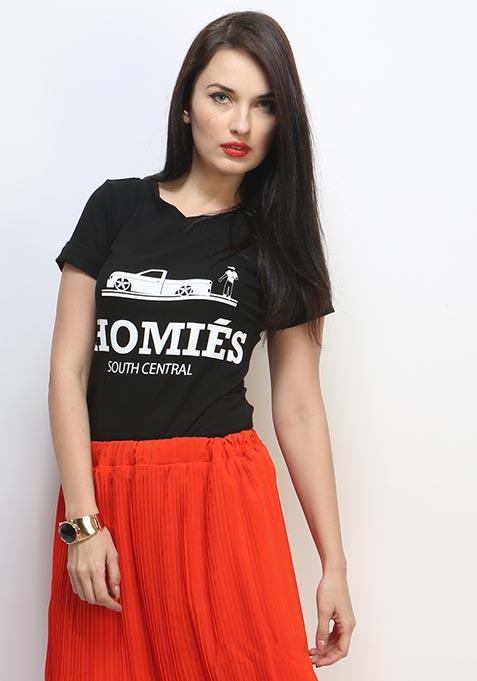 Homies Tee - Black