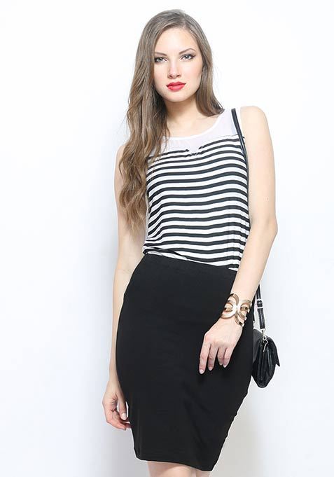 Keep It Simple Blouse - Stripes