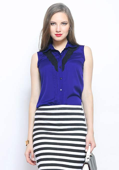 Chic Trip Shirt - Azure