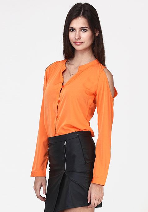 Cold Heart Shirt - Orange