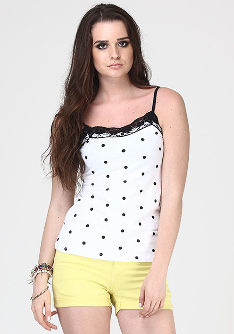 Weekend Dose Cami - Polka