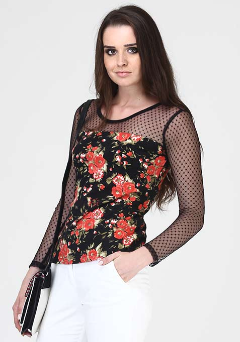 Flower Rush Top