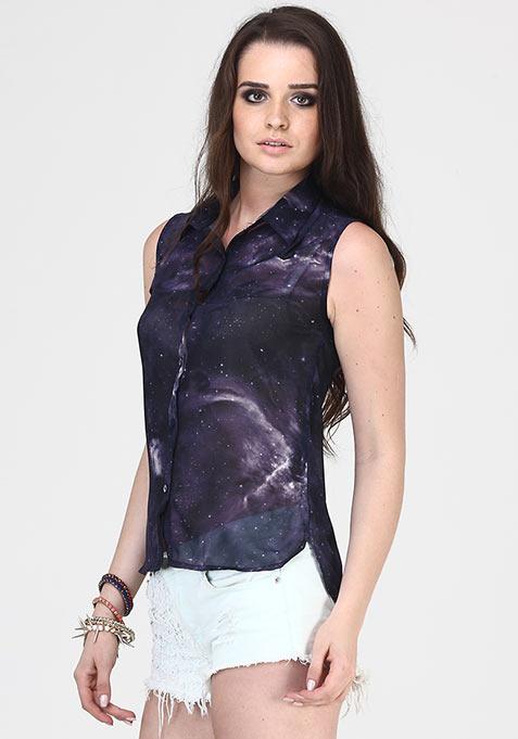 Strarry Night Shirt