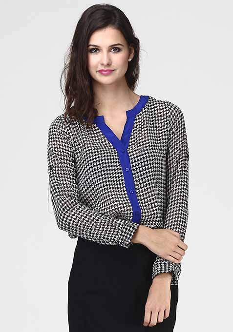 Houndstooth Heed Shirt