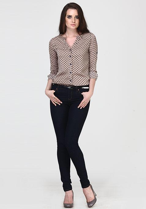 Spots Of Cool Shirt - Fawn