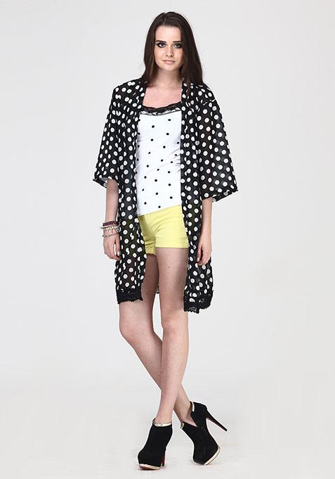Dotted Dazzle Kimono