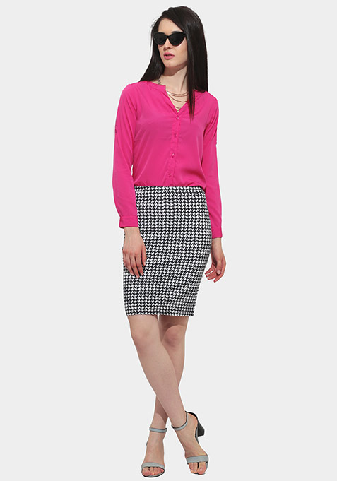 Deep Fall Shirt - Pink
