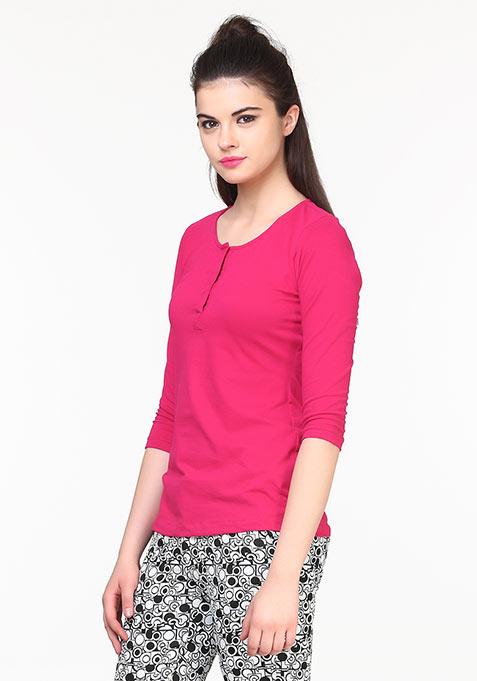 Back to Basics Tee - Pink