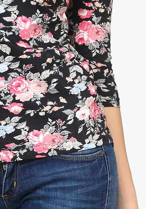 Back to Basics Tee - Floral