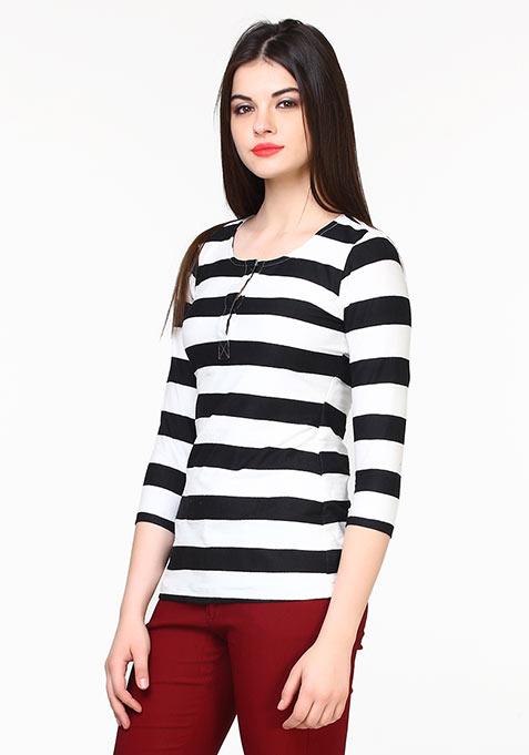 Back to Basics Tee - Stripes