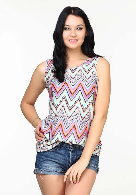 Steep Stripes Tank