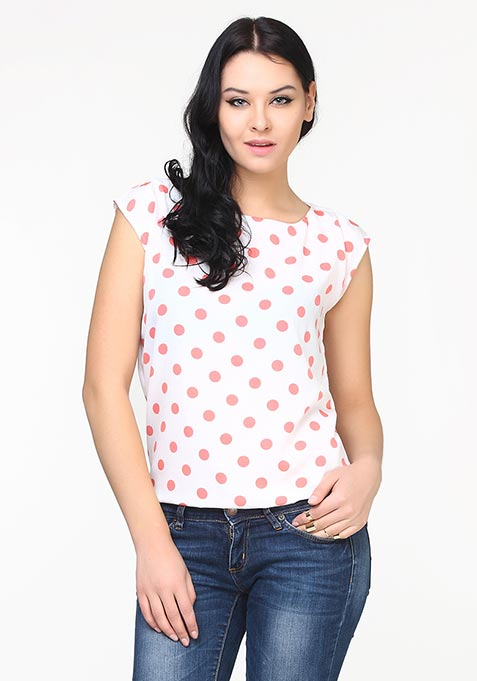 Soft Dots Blouse