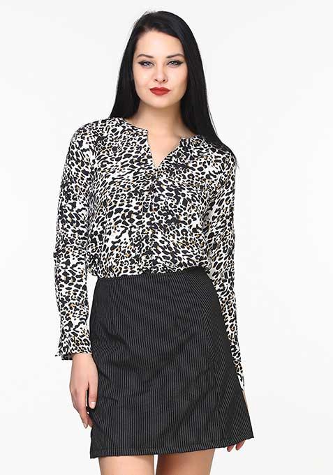 Wild Leopard Shirt
