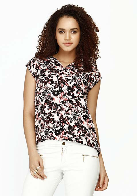 Butterfly Crazy Blouse