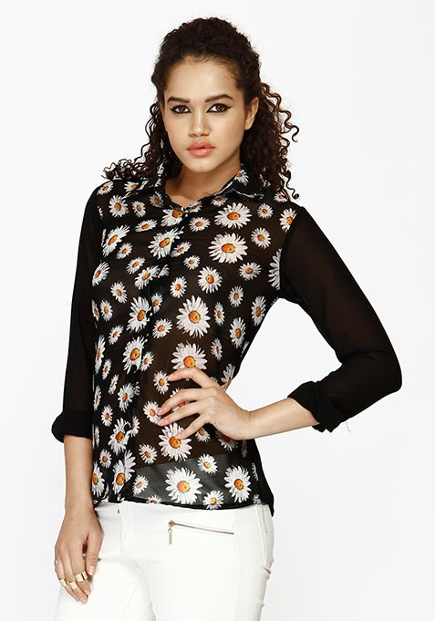 Daisy Dreams Floral Shirt