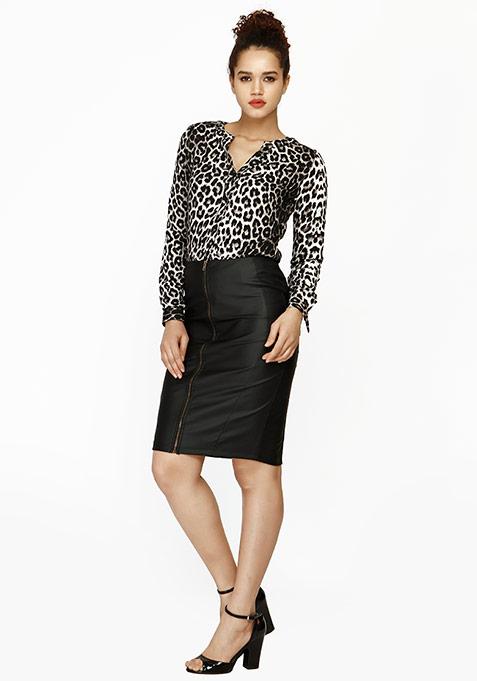 Feral Leopard Shirt