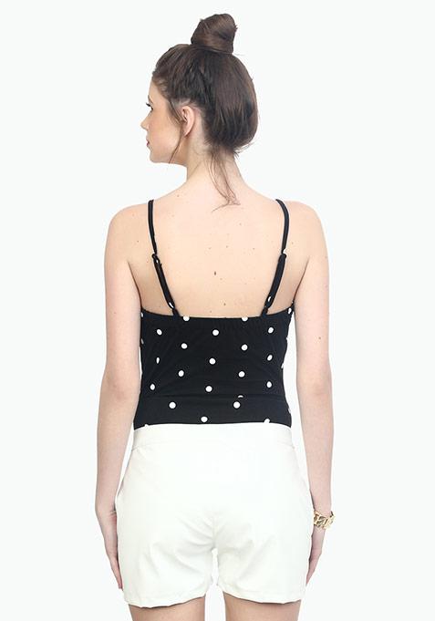 Basic Bish Polka Bodysuit