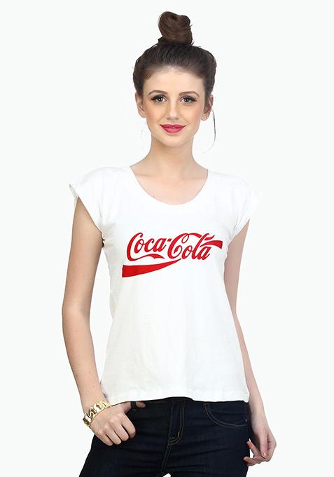 Coca Cola Tee - White
