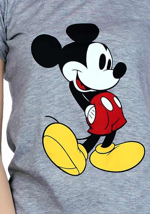 Mickey Mouse Tee - Grey