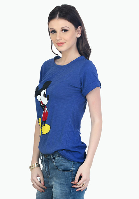Mickey Mouse Tee - Blue