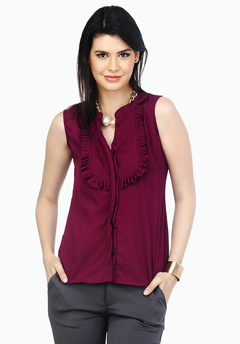 Colour Bomb Shirt - Plum