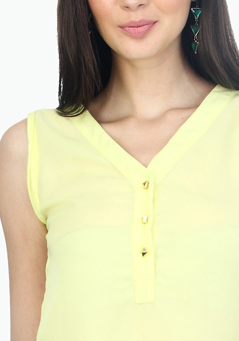 Yellow Lights Blouse