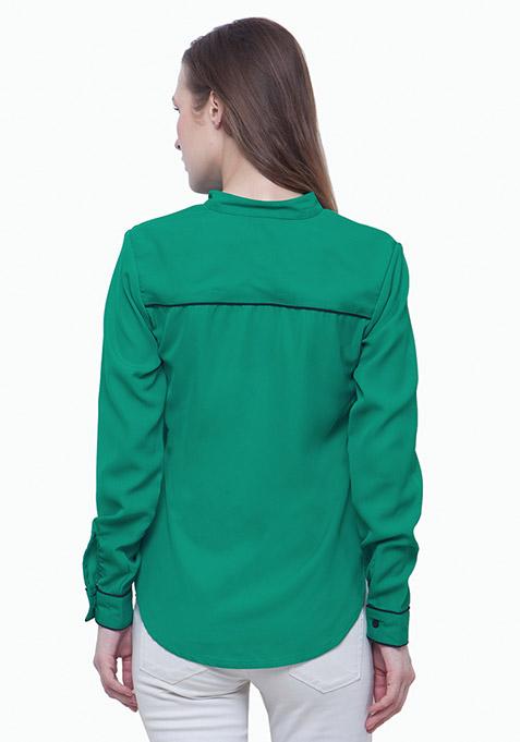 Piping Hot Shirt - Green